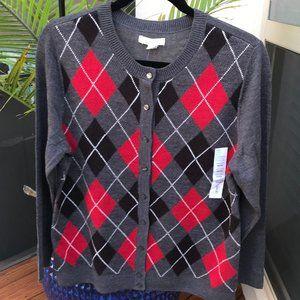 Soft & Classic - Button-Front Cardigan - Medium